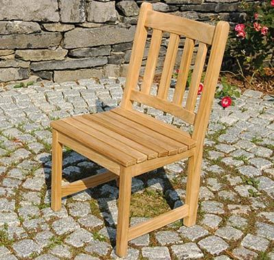 Classic Teak Dining Side Chair