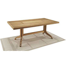 Spirit Song Rectangular Dining Wood Top Table