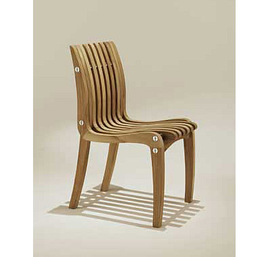 Spirit Song Tri-Part Side Chair