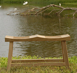 Teak Friendship Bench
