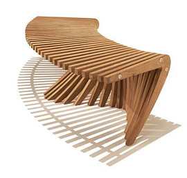Cool Spirit Song Curved Backless Bench Lamtechconsult Wood Chair Design Ideas Lamtechconsultcom